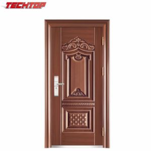 Tps 041 Kerala House Main Front Entry Fire Flush Metal Iron Single Steel Door Design