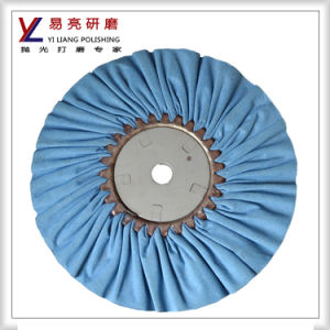 Yiliang Copper Cloth Cotton Fold Airway Buffing Wheel