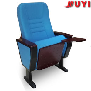 Jy-998m Movable Prices Interlocking  Portable Church Chair Cover Fabric Seats for Cinema Prices Auditorium Chair pictures & photos