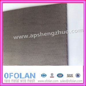 Titanium Double Warp Dutch Twilled Weave Mesh for Glauber′s Salt Filter pictures & photos