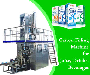 Brick Carton Filling Packing Juice Drinking Beverage Machine Sxb-2000