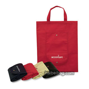 PP Non Woven Folding Bag (HBFB-4) pictures & photos