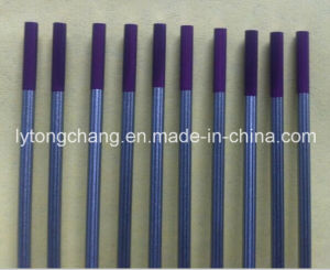 Purple 10PCS Packing Wt30 Thoriated Tungsten Electrodes Dia1/8′′ Ground pictures & photos