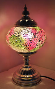 Turkish Handmade Mosaic Table Lamp, Hanging Chandelier, Table Lamp, Turkish  Lamp, Ottoman