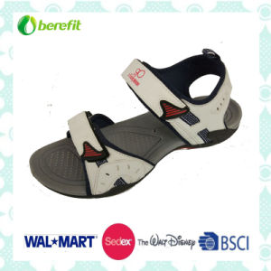TPR Sole and PU Upper Suit for Children, Sporty Sandals pictures & photos