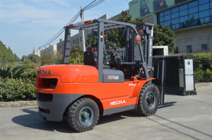 Mini 5 Ton Diesel Forklift Truck pictures & photos