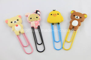 Charming Cartoon Soft PVC Bookmark for Kids pictures & photos
