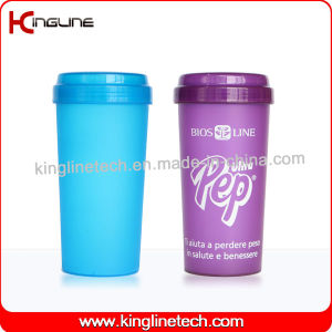 BPA Free, 500ml Plastic Protein Shaker Bottle (KL-7036) pictures & photos