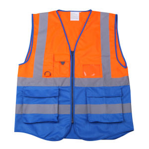 Colorful Reflective Workwear Safety Vest (MW19019) pictures & photos