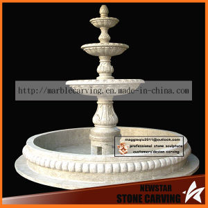 Gray Granite 3 Tiers Water Garden Fountain NSF042 pictures & photos