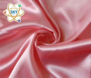 Plain Dyed Spandex Satin Fabric 125G/M 150cm pictures & photos