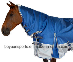 China Winter Horse Rugs With Combo Neck