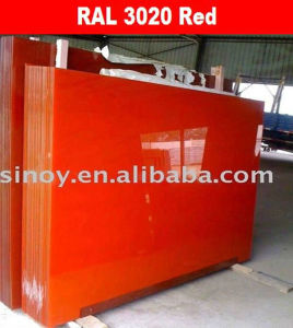 Sinoy Float Glass Back Painted Glass pictures & photos