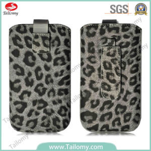 Leopard PU Cell Phone Case for iPhone 6 Plus
