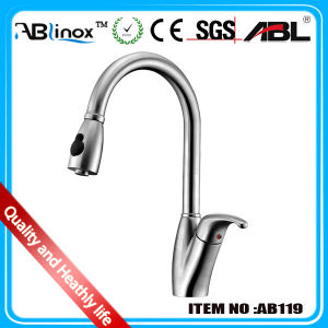 Stainless Steel Kitchen Mixers, Pull out Faucets-New Style (AB119)