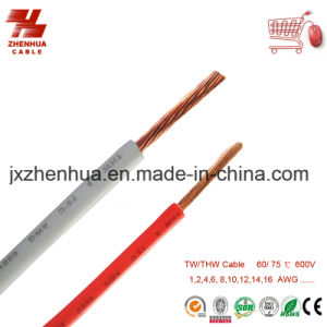 10 AWG 12AWG 14AWG Cable Thw Cable pictures & photos