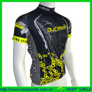 Digital Sublimation Printing Cycling Wear with Neon Ink Color pictures & photos