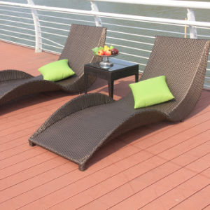 Outdoor Wood Furniture Lounge Bed Beach Chair T506