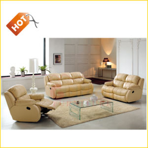 Family Sectional Leather Series Leather Sofa pictures & photos