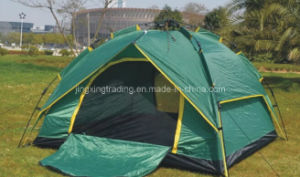 210t Polyester Automatic Camping Tent for 3 Persons (JX-CT008) pictures & photos