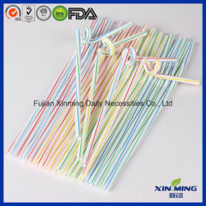 Bar Party Striped Plastic Artistic Drinking Straws pictures & photos