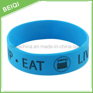 Wholesale Custom Rubber Wristbands pictures & photos