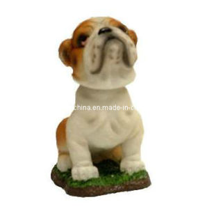 Resin Pup Doll Dog Bobblehead Statue in Polyresin pictures & photos
