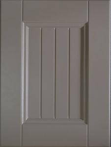 White PVC Kitchen Door (NX1211)