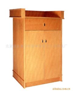 School Furniture Type Antique Wood Material Wooden Podium pictures & photos