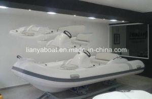 Liya 4.3m PVC Rigid Inflatable Boats Center Console Fiber Boat pictures & photos
