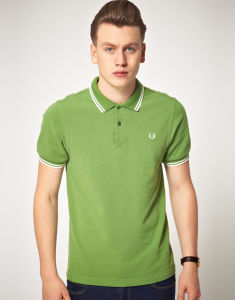 fashion Nice Cotton/Polyester Embroidery Polo Shirt (P050) pictures & photos