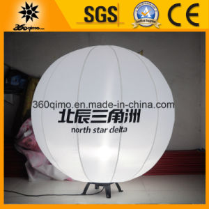 Free Standing Inflatable LED Lighting Balloon for Advertising