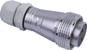 Circular Cable Power Waterproof Connector (PC28-2A)