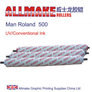 UV/Conventional Combination Man Roland Rollers (500)