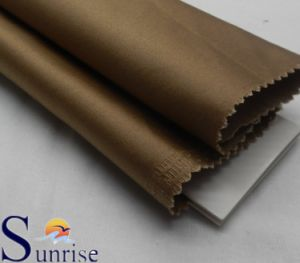 Cotton Nylon Spandex Sateen Fabric (SRSCNSP 080)