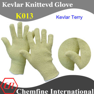 Kevlar Knitted Terry Glove pictures & photos