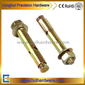 Carbon Steel Expansion Sleeve Anchor Bolts with Color Zinc Plated pictures & photos