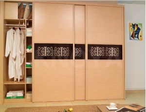 Popular Panel Bedroom Wooden Wardrobe Door Designs pictures & photos