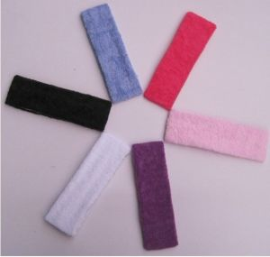 Candy Color Solid Color Elastic Hair Band, Toweling Yoga Caps Headband