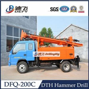 Borehole Truck Mounted Drilling Rig for Water Well pictures & photos