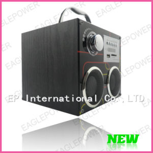 HF Outdoor Portable USB SD MP3 Speaker Station FM Radio (EP-YS-902)