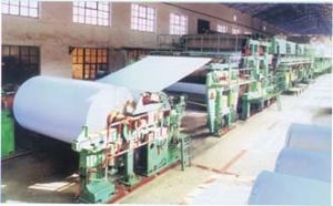 2400mm Culture Paper Making Machine Line, Printing Paper Machinery pictures & photos