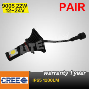 High Power 9005 22W 1200lm High Beam CREE LED Headlight