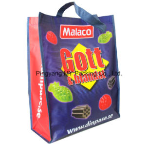 Custom Print BOPP Lamination Non Woven Promotion Bag pictures & photos