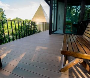 Wood Texture Wood Plastic Composite WPC Flooring pictures & photos