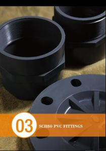 SCH80 PVC Pipe Fitting From 1/2 Inch to 12 Inch