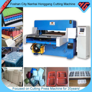 Hg-B60t PLC Control Four Column Hydraulic Automatic Die Cutting Machine pictures & photos