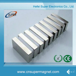 Permanent Strong Sintered NdFeB Neodymium Iron Boron Block Magnets pictures & photos