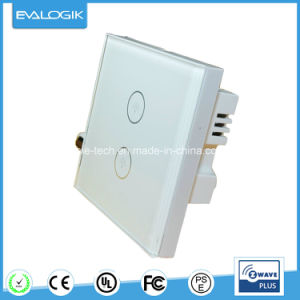 China Z-Wave Touch Panel 2 Way, 86 Size - China Switch Panel, Easy ...