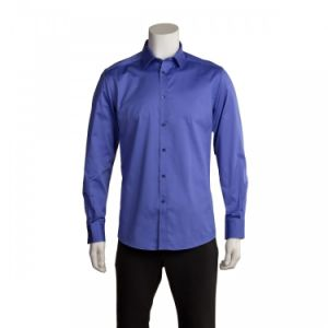 Long Sleeve Blue Dress Shirt pictures & photos